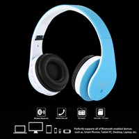 Wholesale STN Headphone in Wireless Stereo Bluetooth EDR Headset mm audio Earphone Music MP3 Handsfree for iPhone Samsung