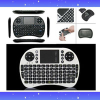 Wholesale Portable G Rii Mini i8 Wireless Keyboard Mouse Combo with Touchpad for PC Pad Google For MXQ MXIII MX CS918 M8 Andriod TV Box Xbox360 PS3