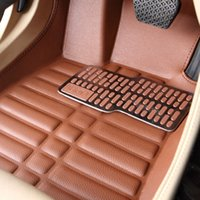 auto carpet - Car floor mats Foot mat For BMW X5 X6 anti slip floor mats Auto carpet Car styling Waterproof D leather Allrounded