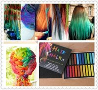 best temporary hair dyes - 2015 Best quality Colors set Chalk Hair Temporary Chalk Hair Color Dye Pastel Chalk Bug Rub