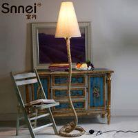 Wholesale European and American minimalist modern bedroom den decorative floor lamp lighting the living room Mediterranean creative person