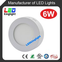 aluminum door panel - UL listed surface mounted led downlight round LED panel W mm mm mm AC85 V CRI gt only days to your door