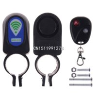 Wholesale Bicycle Motorbike Moped Cycling Bike Alarm System Anti theft Security Alarm System Remote Control car alarm clock twin bell