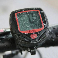 Wholesale Waterproof Wireless Bike Bicycle Computer Odometer Speedometer with LCD Display