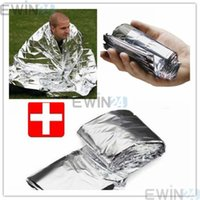 Wholesale New Waterproof Emergency Rescue Space Foil Thermal Blanket Pad Cover