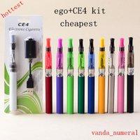 EGO-CE4 CE4 Atomiseur EGO-T kit de série E-cigarette cigarette électronique ego kits de départ ego batterie 650mah 900mah 1100mah Diverses couleurs