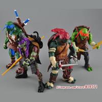Wholesale NECA Toy Teenage Mutant Ninja Turtles hasbroeINGlys Action Figure TMNT Model Toys For Boys Juguetes Gift Brinquedos