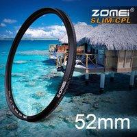 Wholesale New Zomei mm Ultra Slim CPL Filter CIR PL Circular Polarizing Polarizer Filter for Olympus Sony Nikon Canon Pentax Hoya Lens mm