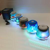 audio woofer - BT811 Mini Portable Audio Player Mini Stereo LED Light Portable Bluetooth Speaker Handfree Mic TF Card Slot Woofer Speakers