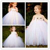 beach ball pictures for kids - Flower Girls Dresses For Weddings Kids Beach Wedding Dresses Girls Dress Sweet Strapless and Backless Princess Dress Flower Girls Dresses