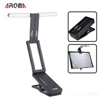 al music - Aroma AL Clip on Rechargeable Music Stand Lamp for Guitar Piano LED Stage Light Universal Compact Portable USB Charge