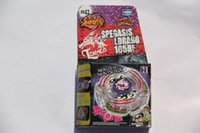 Wholesale 1 piece BEYBLADE METAL FUSION LIGHTNING L DRAGO HF LAUNCHER PACK Beyblades BB43
