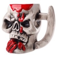 article coffee - Creative Articles of Daily Use Water Mugs Domineering Blood Skull Pirate Ceramics Coffee Tea Cup