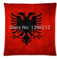 albania flag - DIY Hot albania grunge flag Pillow Cases x inch Excellent Quality Soft Pillowcase