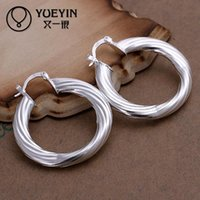 Wholesale factory price women s round Sterling silver earring DFME155 New supplies earrings fashion high quality