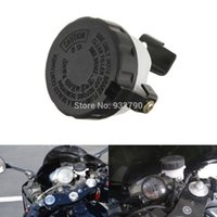 Wholesale 2pcs Universal Motorcycle Brake Oil Cup Reservoir Front Fluid Bottle Master Cylinder W Bracket For Honda Yamaha Suzuki Kawasaki order lt no