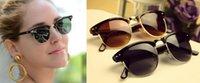 Wholesale 2015 Unex s Retro Half frame Sunglasses Wayfarer Frame Glasses colors
