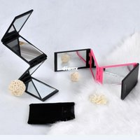 Wholesale Fashion Hot Touch Beauty panel foldable mirror panorama mirror portable mirror foldable mirror for all angles
