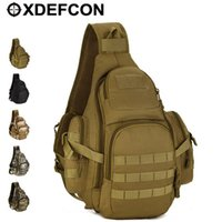 Cross Body advance sling - Field Tactical Chest Sling Pack Outdoor Sport A4 One Single Shoulder Man Big Large Ride Advanced Travel Bag