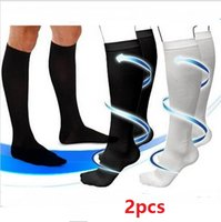 Wholesale Retail package Comfortable Relief Soft Unisex Miracle Socks Anti Fatigue Compression Stockings Soothe Tired Legs S M L XL ak011