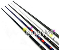 Wholesale 3pcs mm tip carbon snooker billiard cue stick cue stainless joint center joint cue free ship