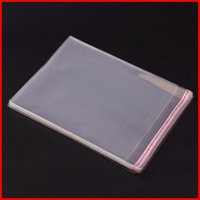 Wholesale Cheap Clear Self Adhesive Plastic Bags OPP Packing Many Sizes