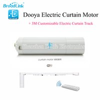 Wholesale Customizable Electric Curtain Track for Broadlink DNA Dooya Electric Curtain Motor WIFI Remote Control IOS Android Smart Home