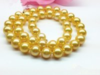 authentic pearl necklace - Luxury of the rich dark golden pearl necklace mm need Japan Sea Pearl inch authentic guaranteed