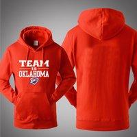 basketball team hoodies - BASKETBALL TEAM IS OKLAHOMA DURANT Hooded Pullover Spring Autumn Winter Hoodies Men Cotton Sports Sweatshirts