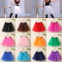 Wholesale Hot Sales Women Lady Girls Tutu Dance Skirt Pettiskirt Dancewear Multi layers Ballet Princess Fancy Dress Polyester QX181