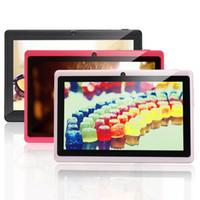 Mi pc Avis-Un navire de USA! IRULU 7 pouces Allwinner A33 Quadcore Tablet PC Android 4.4 8GB 1024 * 600 HD Q88 Wifi MID A33 Comprimés