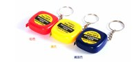 Wholesale Small tape measure meter portable mini soft tape measure ruler small gift gift keychain pendant metric inch tape measure