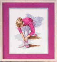 ballet needles - no print counted Cross Stitch Pattern ballet girl Dancer Human series kits for embroidery needle craft gift home accessories order lt no