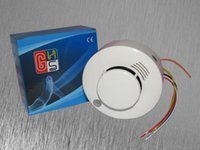 Wholesale 5 CE Photoelectric Smoke Detector Sensor Wired Smoke alarm fire alarm