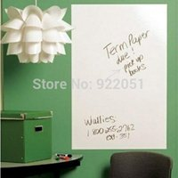 PVC whiteboard pen - x200cm cm Whiteboard Sticker Wall Paper with Marker Pen Decor Removable kids room home decals