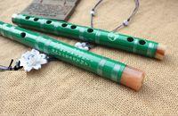 bamboo flute music - White black green cupronickel bamboo flute music