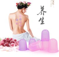 Wholesale Cupping Cup Health Beauty Care Family Full Body Large Massage Massgaer Helper Anti Cellulite Vacuum Silicone Free DHL Factory Direct