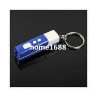 Wholesale 2pcs Mini Keychain LED Laser Light Show Ceiling Time Projector Watch Clock Blue Color
