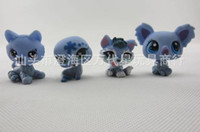 New Year wholesale action figures - Retail FS My Littlest Pet Shop LPS Collection Loose Action Figure Style Cute Fun Toy