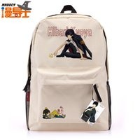 backpack animation - Man with disabilities lead tutor Kyoya Hibari leisure backpack schoolbag travel bag animation around