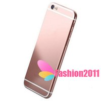 Wholesale Unlocked i6s Plus I6s inch MTK6582 Quad Core metal MP Dual camera Show G GB Show G Lte G GPS Smart Android Phone