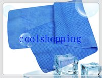 Wholesale DHL Freeshipping CM ICE COOL TOWEL SPORTS COOLING TOWEL colors