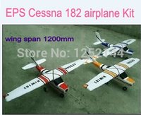 airplane kit rc - new arrival brushless better quality EPO RC Cessna airplane model DIY kit mm wingspan color