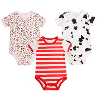 Wholesale Shop Newborn Clothes - Wholesale-Free shopping, triangle newborn bodysuit short-sleeve clothes male crawling service summer cotton 100%