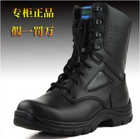 Wholesale The new leather boots tide male Martin boots men s work boots quality assurance