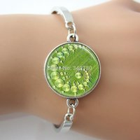alien number - Crop Circle Bracelet Aliens UFO s Bangle Geometric Jewelry Green Art Picture Photo Bracelets Bangles G029