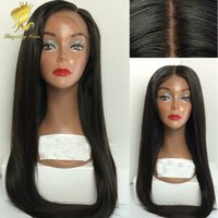 silk top full lace wigs - 4x4 i Straight Silk Base Wig Virgin Malaysian Silk Top Lace Front Wig Glueless Full Lace Human Hair Wigs No Silk