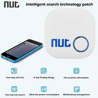 Wholesale High Quality Nut Two way Bluetooth Mobile Phone Anti lost Alarm Smart Finder Patch For Keychain Cellphone Pet Child