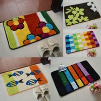 bar areas - FindFine Free Ship Popular Color Rainbow Bar Design Bathmat Floor Bedroom Kitchen Area Home Wedding Decorative Rug Carpet Mat