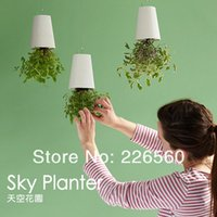 Wholesale Piece Sky Planter Upside Down Plant Pot